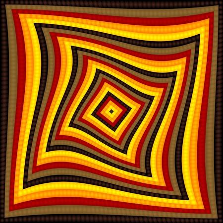 op art/pop art checkerboard pattern background Stock Vector - 10455559