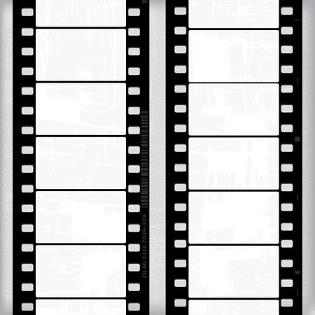 bollywood: Grunge abstracto con fotogramas de pel�cula o tiras de pel�cula
