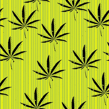 Weeds, seamless background of, grunge art graphic Vector