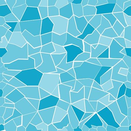 vidrio roto: Patrón de fondo sin fisuras con las piezas de vidrio rotos en colores globales solamente.