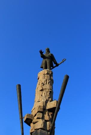 Avram Iancu statue in Cluj Napoca, Romania Stock Photo - 11664038