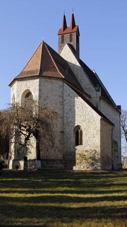 napoca: Fortified church Mansatur in Cluj Napoca, Romania from 9 Century