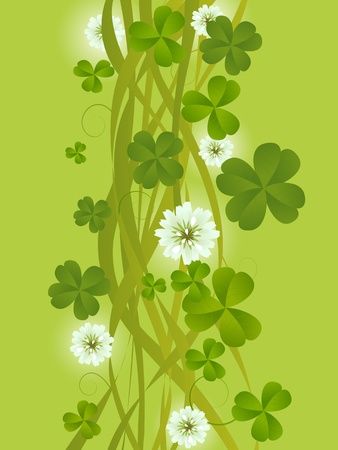 four leafed: St. Patrick