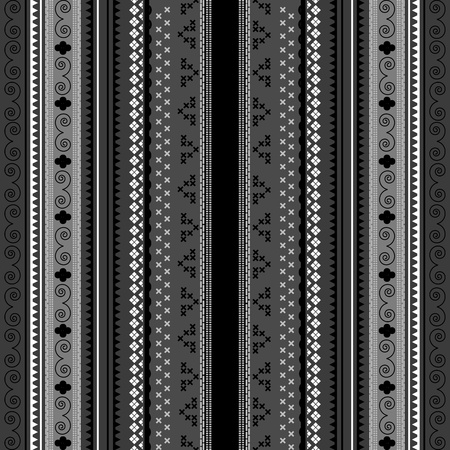 Maori or Polynesian style decoration, background Vector
