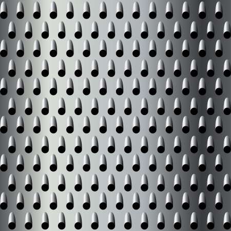Background texture for a cheese grater, seamless pattern Stock Vector - 15903111