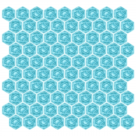 Background texture with blue diamonds Stock Vector - 17086908