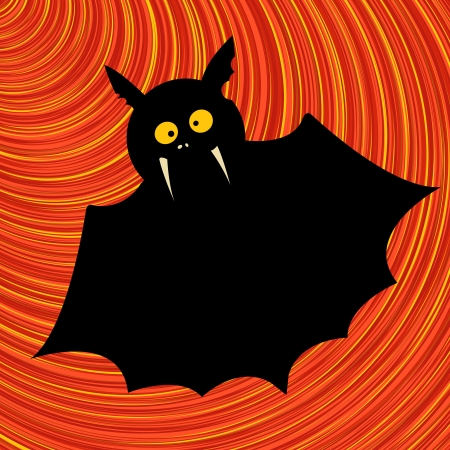 Funny bat, cartoon art illustration Stock Vector - 17288229