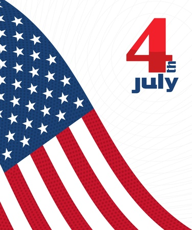american election: Independence Day decorative background with USA flag
