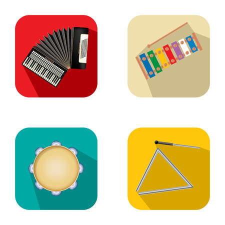 xylophone: Music and party icon set 3