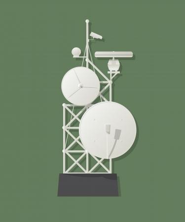 airwaves: Media tower graphic