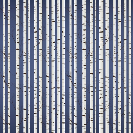 bark:  Birch wood pattern Illustration