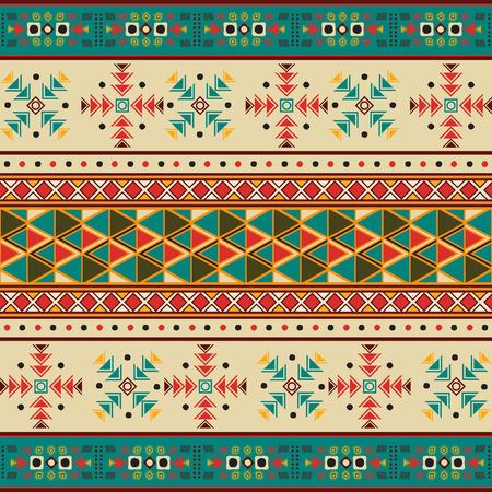 Seamless tile with navaho pattern 일러스트