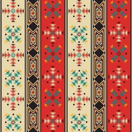 Seamless background pattern with navahostyle motif