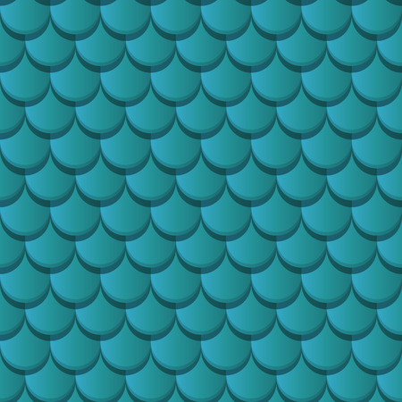 roof shingles: Blue clay roof tiles seamless pattern