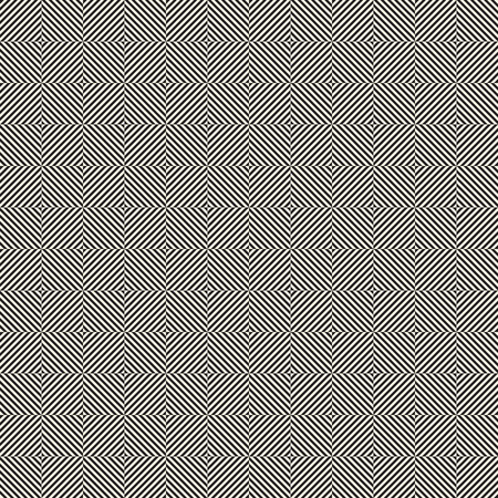 Design seamless monochrome illusion op art  pattern