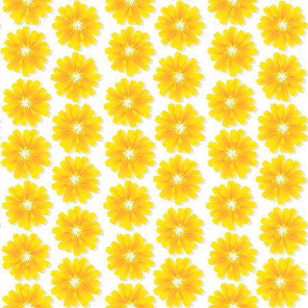 Seamless floral wallpaper pattern design