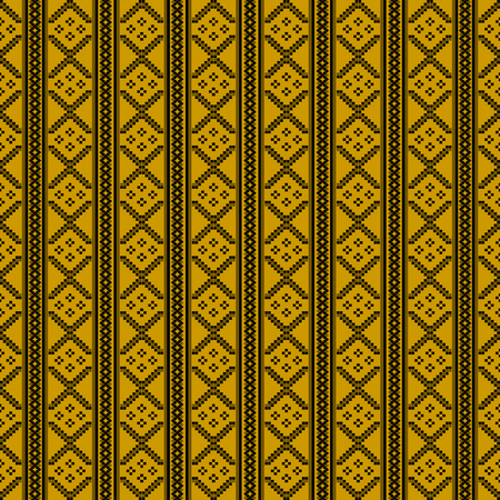 east indian: Embroidery pattern, seamlles background tile