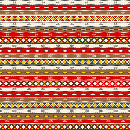Traditional romanian embroidery seamless pattern design