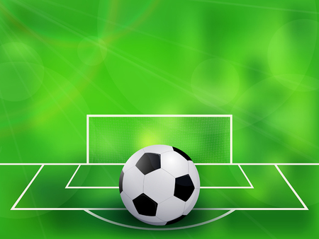 Abstract soccer football background. Vector illustration