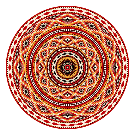 American Indian decorative vector ornament