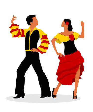 sexy girl dance: The Rumba dancers