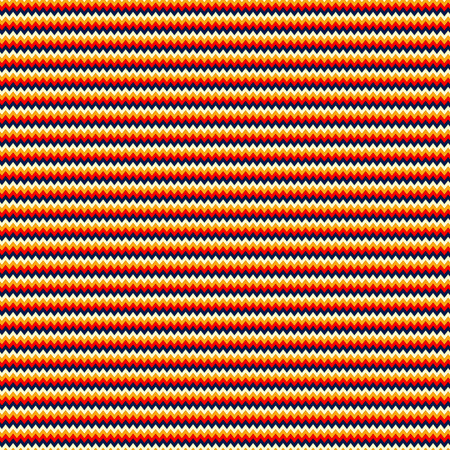 Seamless pattern made of bright and colorful zig zag stripes Illustration