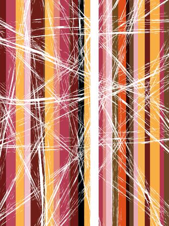 Vintage color stripes for your design Illustration