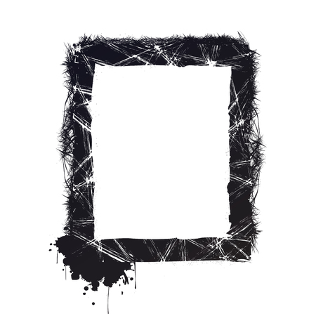 Grunge frame vector Иллюстрация