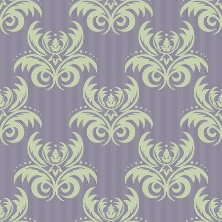 Vector seamless floral damask pattern. Rich ornament, old Damascus style. Royal victorian seamless pattern for wallpapers, textile, wrapping, wedding invitation. Damask woman pattern. EPS10.