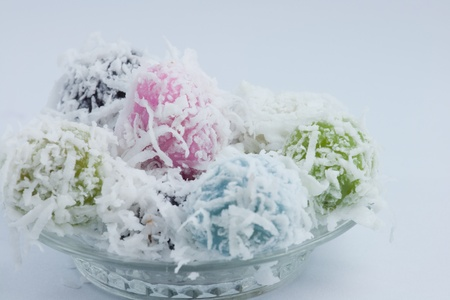 The colorful of sweet dessert photo