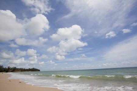 Lanta island beach at Krabi ,Thailand Stock Photo