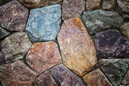 Colorful of rock background Stock Photo - 13926551