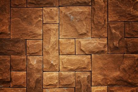 Yellow brick pattern background Stock Photo - 13926552