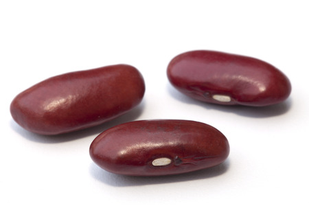 Kidney bean isolated on the white background photo