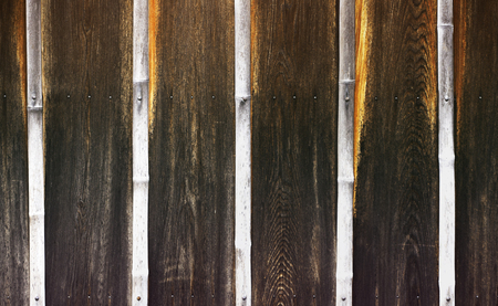 background pattern: Old wooden wall pattern background