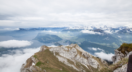 Pilatus is a famous travel mountain, Switzerland