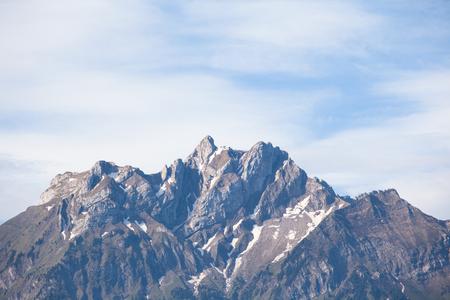 Pilatus is a famous travel mountain, Switzerland Reklamní fotografie