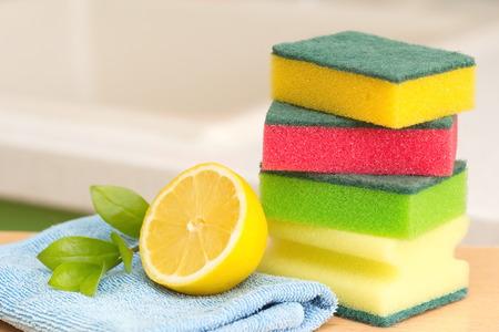 productos quimicos: House producto de limpieza Foto de archivo