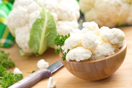 Fresh Cauliflower Standard-Bild