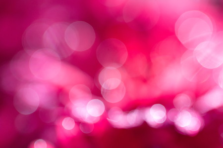 red and pink: Abstract circular pink bokeh background