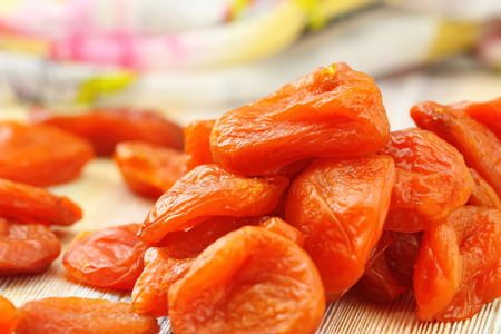 dried fruit: Healthy food. Dried fruit on the table.