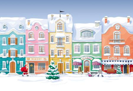 cityscape: Winter cityscape