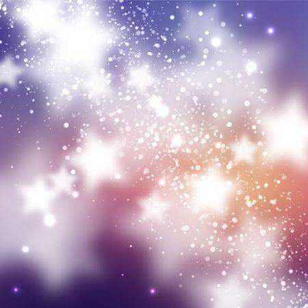 星と抽象的な背景  イラスト・ベクター素材