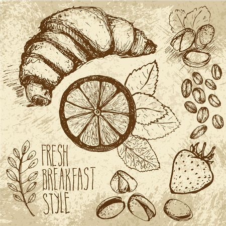 sketched: Breakfast sketched set
