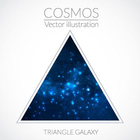 milky: Galaxy into triangle