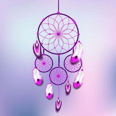 atrapasue�os: dreamcatcher ilustraci�n vectorial Vectores