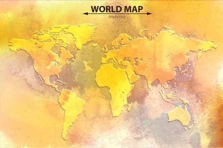 north america map: World map