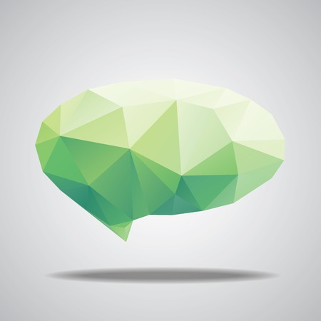 blobs: Vector bright watercolor speech cloud and blobs