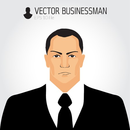 angry businessman: Angry businessman - vector illustration Illustration