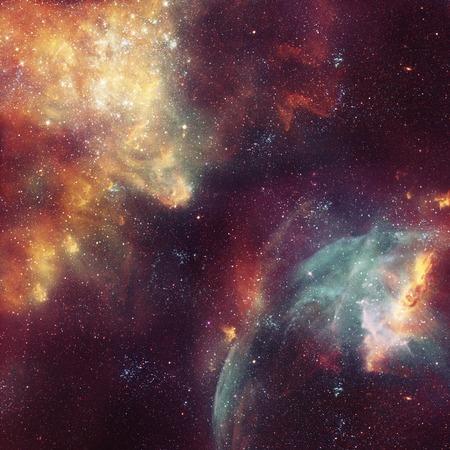 kosmos: Galaxy Illustration, Raum Hintergrund mit Sternen, Nebel, Kosmos Wolken am Sternenhimmel Lizenzfreie Bilder